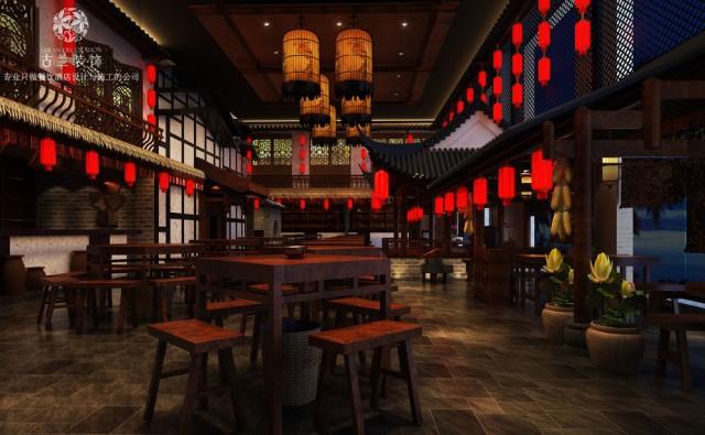 宴会厅大厅部分采用现代的设计手法,然后用祥云、梅花等元素来点缀,突出中式中的祥和、美好、喜庆等氛围。顶面按区域分块让整个空间既开阔区域感又强。