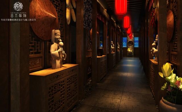 墙面采用了大量的布艺硬包。配以装饰木线条让空间奢华又不失沉稳。 包间部分设计了中式和欧式两种风格。