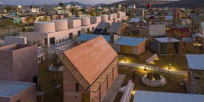 """墨西哥中部""""住房实验室""""总体规划◎设的相关图片"""