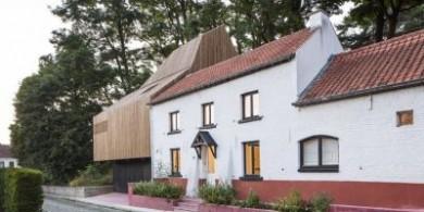 城市中谷倉:比利時滑鐵盧的歷史房屋擴建設計
