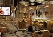 重庆日式烤肉店设计|重庆餐厅设计公