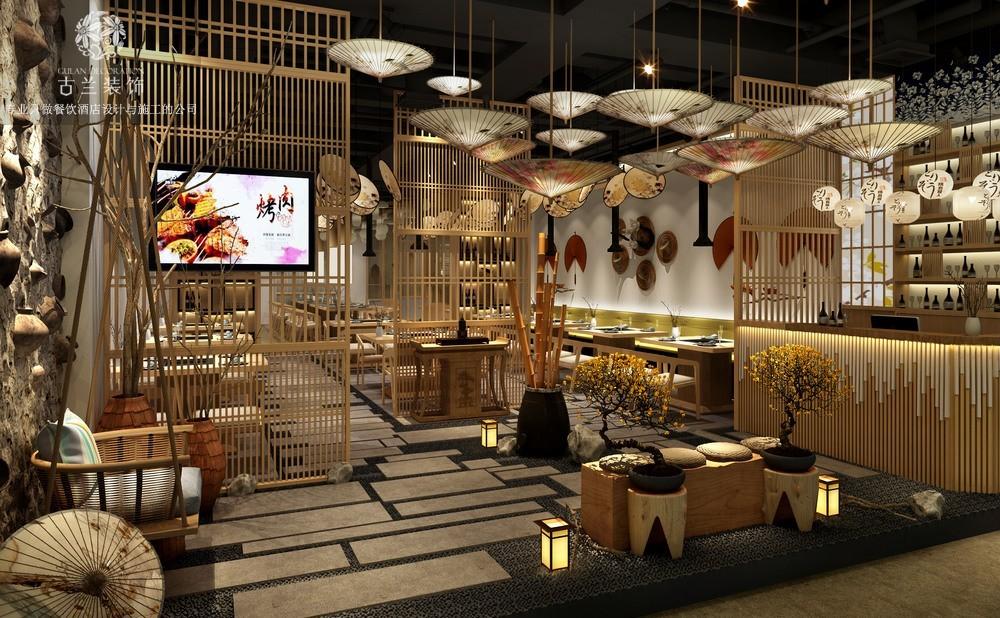 重庆日式烤肉店设计|重庆餐厅设计公司