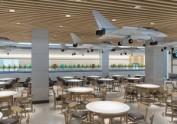 西安航空学院大学食堂设计 | 南宁餐