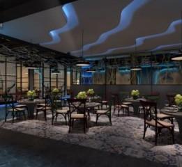 成都主题餐厅设计-壹林特色豆花鱼餐