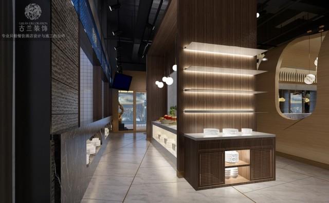 昆明餐厅设计公司 秦申港餐厅装修效果图