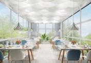 西安花园餐厅设计——西安餐厅设计公