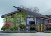 西安餐厅设计公司——水木青院花园餐