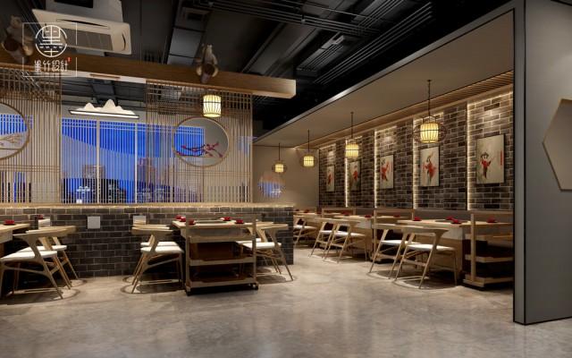 西安新中式火锅店设计
