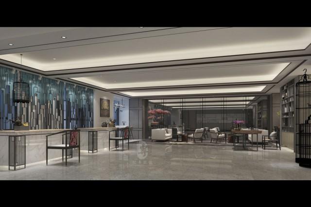 务川酒店设计|务川酒店装修|古兰装饰-和枫精品商务酒店