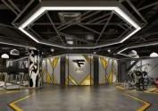西安健身俱乐部设计公司——健身房设