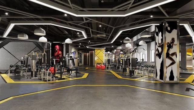 西安健身俱乐部设计公司