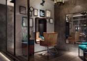 西安理发店设计——美发店设计公司