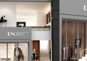 西安女装店设计公司——服装店设计
