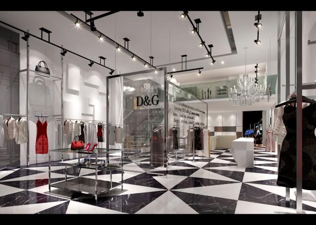 西安服装店设计