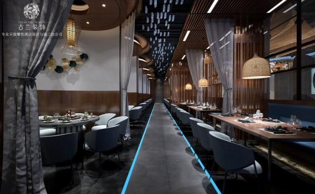 山东海鲜餐厅设计公司