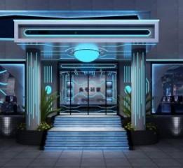 西安电竞馆设计公司——电竞网咖设计