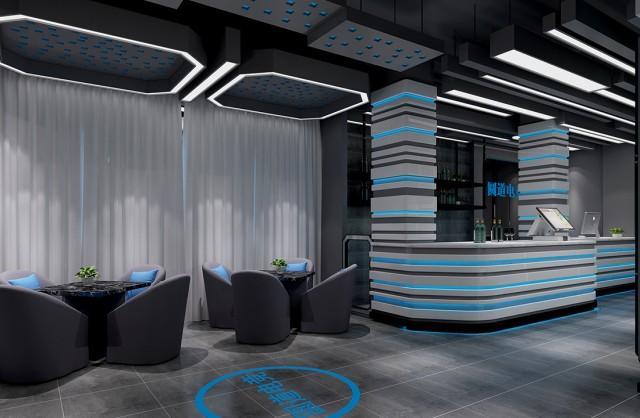 西安网咖设计公司