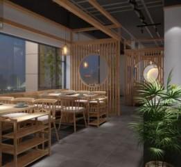 成都养生汤锅店设计|餐厅装修图设计