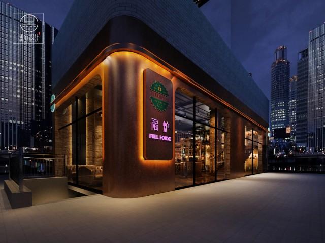 重庆美式酒吧设计