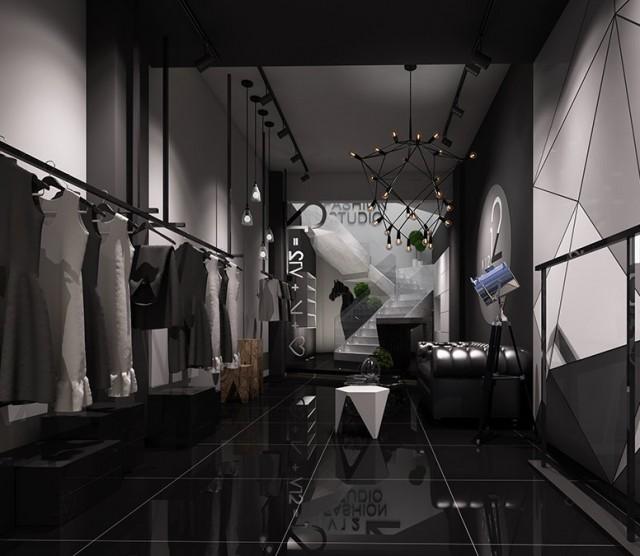 重庆服装店设计