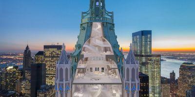 纽约皇冠——山顶伍尔沃思大厦住宅设的相关图片