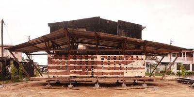 非洲软木屋,一个低成本的离网住房原的相关图片