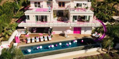 坐落在马利布的芭比两居室梦幻屋租用的相关图片