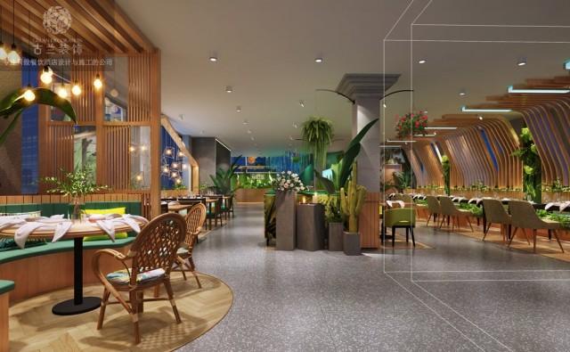 广东湛江主题餐厅设计|梦幻岛6号主题餐厅
