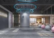 西安健身房设计——力菲健身