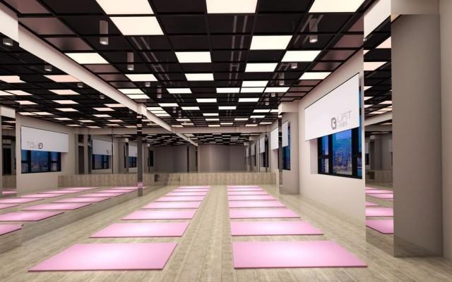 西安健身房设计