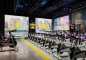 西安健身俱乐部设计——派斯健身俱乐