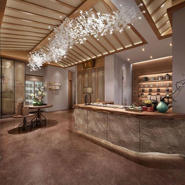 西安茶艺馆设计