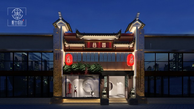 西安专业茶楼设计