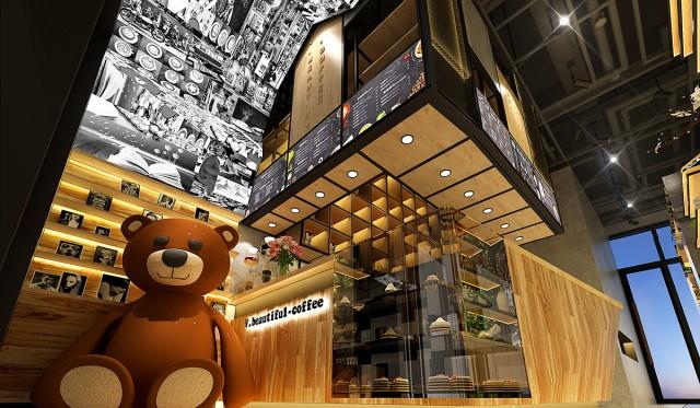 西安咖啡厅设计公司
