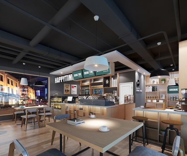 西安咖啡馆设计