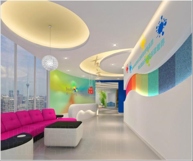 成都早教中心设计公司|创意宝贝早教中心