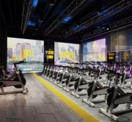 重庆健身房设计——派斯健身俱乐部