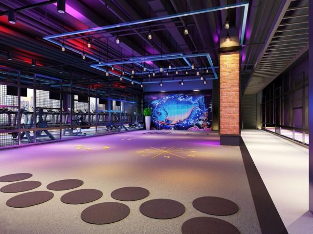 重庆健身房设计