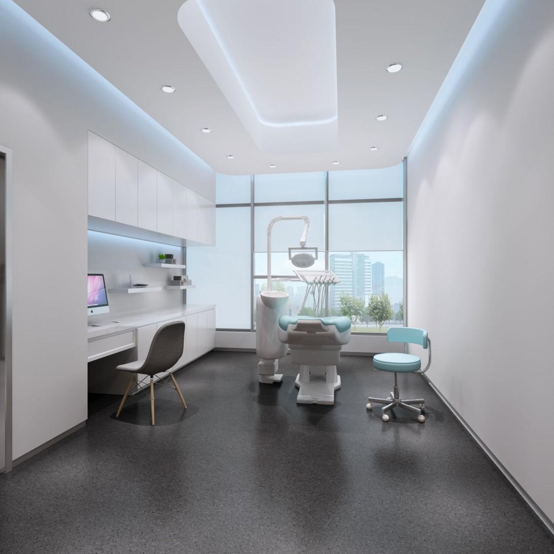 成都口腔牙科医院设计 龙普兰特牙科口腔医院装修图