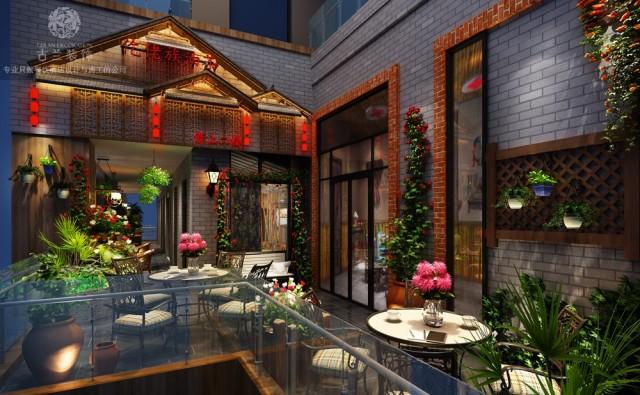 贵州茶餐厅设计|成都餐厅设计公司