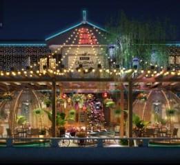 重庆音乐餐厅设计|重庆长寿湖音乐餐