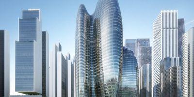 扎哈·哈迪德建筑师事务所设计的OPPO的相关图片