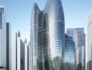 扎哈·哈迪德建筑師事務所設計的OPPO深圳總部