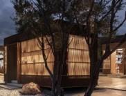 希臘克里特島上的木質休閑文化中心