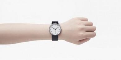 nendo极简主义腕表新设计:将表盘和扣环融为一体