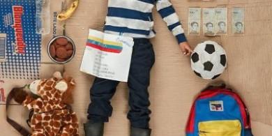 格雷格·西格尔在《非日常面包》系列中描绘了委内瑞拉难民和他们