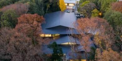 隈研吾|隐藏在森林中的东京明治神宫博物馆
