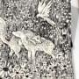 波兰艺术家精美的魔幻现实主义幻想插图