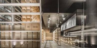 esrawe工作室参考武士盔甲,设计了墨西哥城的日本餐厅