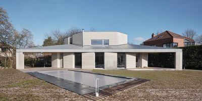 大膽的幾何圖形|比利時私人住宅設計的相關圖片